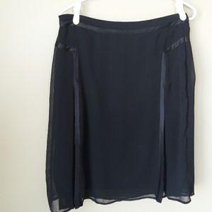 🌟2 for $30🌟Esprit Black Chiffon Skirt